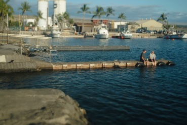 king tide at kawaihae small boat harbor north 2