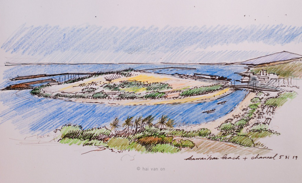 kawaihae replacement beach and channel concept
